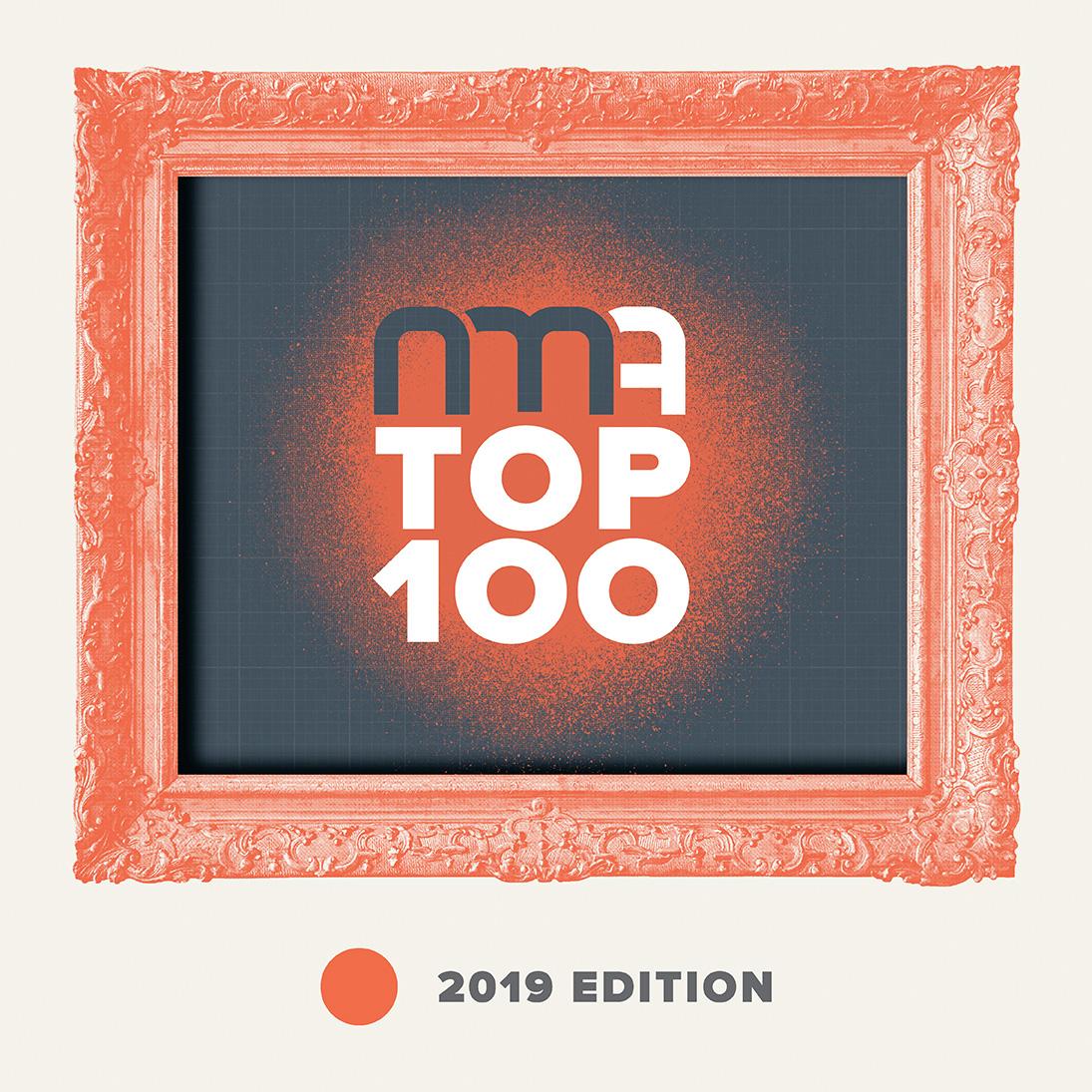 NMA Top 100 logo