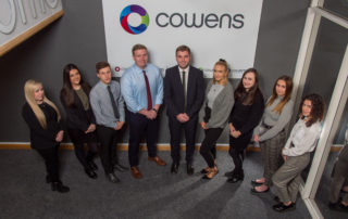 Cowens new account handlers for Cowens Xpress Cover