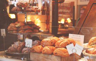 A pastry shop